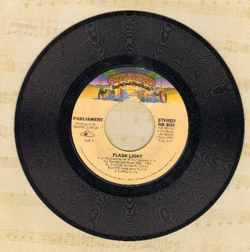 Parliament - Flash Light/Swing Down, Sweet Chariot  - EX8/ - 45 rpm Records