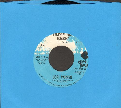 Parker, Lori - Steppin' Out Tonight/Empty Arms (DJ advance pressing) - NM9/ - 45 rpm Records