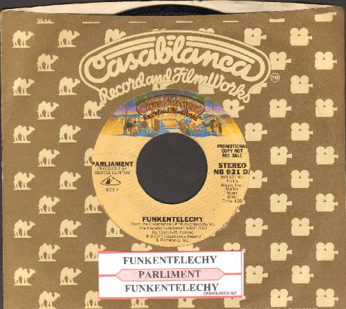 Parliament - Funkentelechy (Parts 1 + 2) (with juke box label and Casablanca company sleeve) - EX8/ - 45 rpm Records