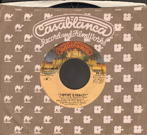 Parliament - Fantasy Is Reality/The Landing (Of The Holy Mothership)(with Casablanca company sleeve) - EX8/ - 45 rpm Records