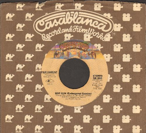 Parliament - Bop Gun (Endangered Species)/I've Been Watching You (Move Your Sexy Body) (with Casablanca company sleeve) - VG7/ - 45 rpm Records