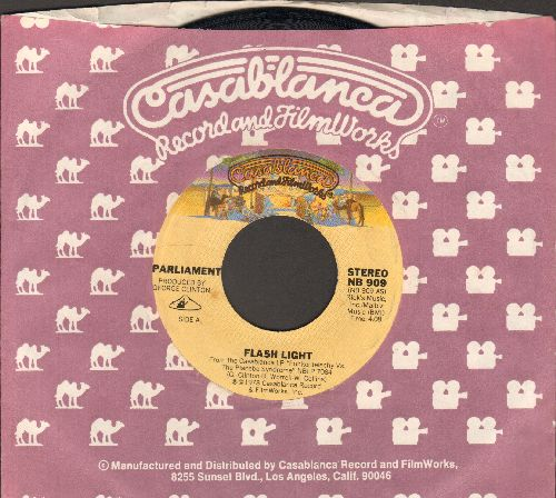 Parliament - Flash Light/Swing Down, Sweet Chariot (with Casablanca company sleeve) - VG7/ - 45 rpm Records