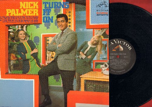 Palmer, Nick - Nick Palmer Turns It On: Goin' Out Of My Head, It's Not Unusual, Sunday Will Never Be The Same, Up-Up And Away, Alfie (Vinyl MONO LP record) - NM9/EX8 - LP Records