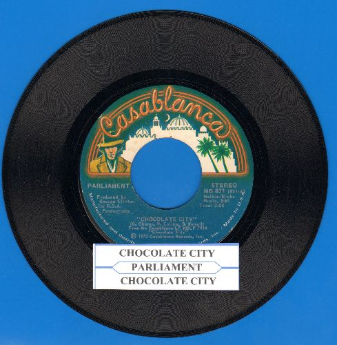 Parliament - Chocolate City (long and short version with juke box label) - NM9/ - 45 rpm Records