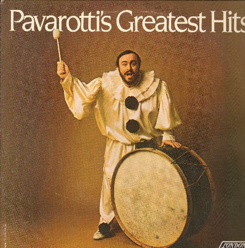 Pavarotti, Luciano - Pavarotti's Greatest Hits - 2 vinyl STEREO LP records in gate-fold cover. - NM9/EX8 - LP Records
