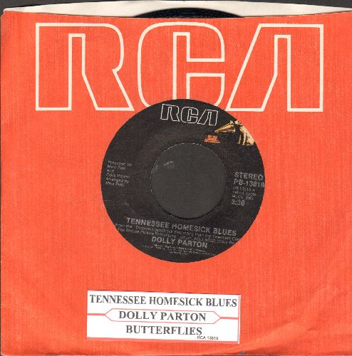 Parton, Dolly - Tennessee Homesick Blues/Butterflies (with RCA company sleeve and juke box label) - NM9/ - 45 rpm Records