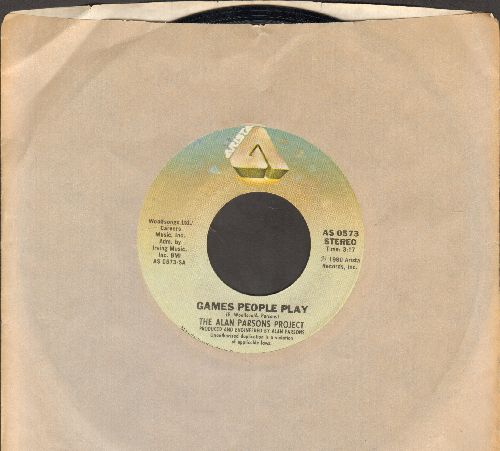 Parsons, Alan Project - Games People Play/The Ace Of Swords (with Arista company sleeve) - NM9/ - 45 rpm Records
