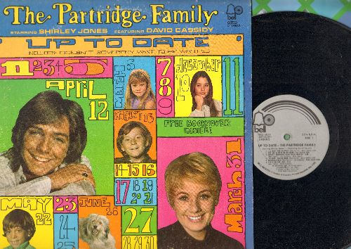 Partridge Family - Up To Date: I'll Meet You Halfway, Doesn't Somebody Want To Be Wanted - NM9/EX8 - LP Records