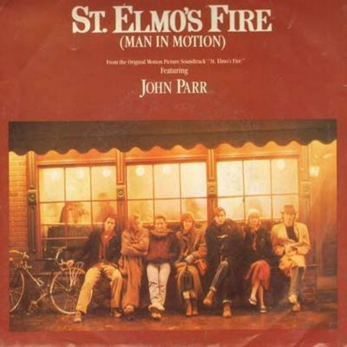 Parr, John - St. Elmo's Fire/One Love (with picture sleeve) - NM9/EX8 - 45 rpm Records
