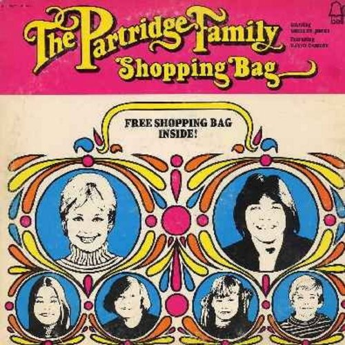 Partridge Family - Shopping Bag: Hello Hello, Girl You Make My Day, Last Night, Every Song Is You, If You Ever Go (Vinyl STEREO LP record) - EX8/VG7 - LP Records