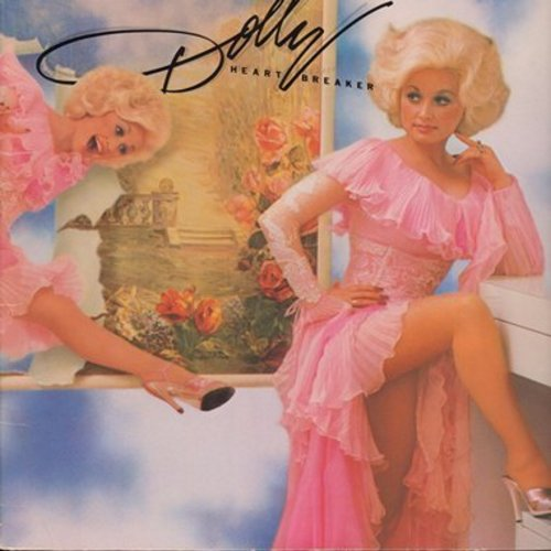 Parton, Dolly - Heartbreaker: We're Through Forever ('Til Tomorrow), Nickels And Dimes, I Wanna Fall In Love (Vinyl STEREO LP record, gate-fold cover) - EX8/EX8 - LP Records
