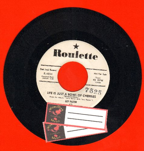 Pastor, Gus with Tony Pastor & His Orchestra - Life Is Just A Bowl Of Cherries/This Is My Lucky Day (DJ advance pressing, shipped with 2 blank juke box labels) - NM9/ - 45 rpm Records