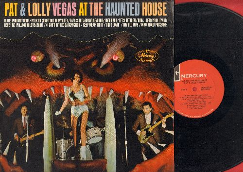 Vegas, Pat & Lolly - At The Haunted House: In The Midnight Hour, Papa's Got A Brand New bag, (I Can't Get No) Satisfaction, Good Lovin' (vinyl MONO LP record) - EX8/NM9 - LP Records