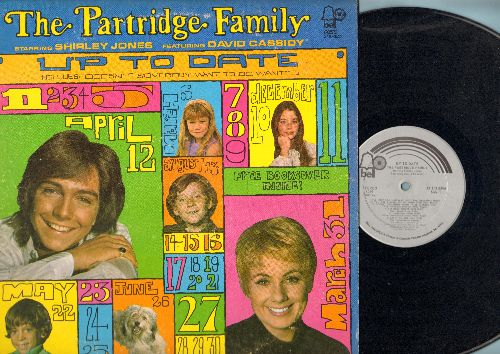 Partridge Family - Up To Date: I'll Meet You Halfway, Doesn't Somebody Want To Be Wanted - EX8/EX8 - LP Records