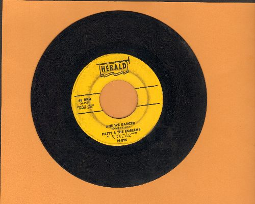 Patty & The Emblems - And We Danced/You Can't Get Away - VG6/ - 45 rpm Records