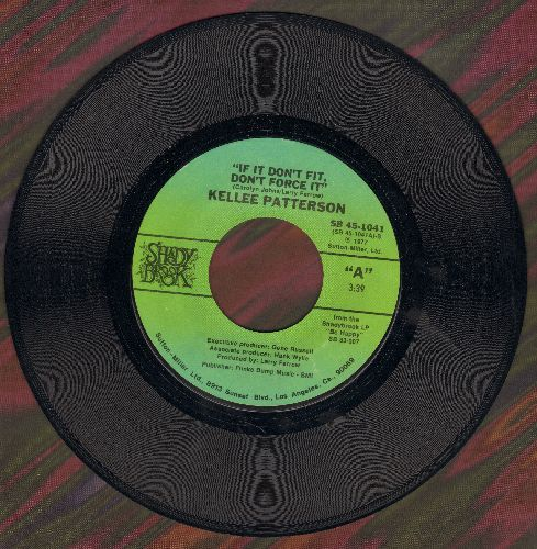 Patterson, Kellee - If It Don't Fit, Don't Force It/Be Happy - EX8/ - 45 rpm Records
