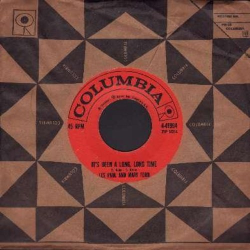 Paul, Les & Mary Ford - It's Been A Long, Long Time/Jura (with Columbia company sleeve) - EX8/ - 45 rpm Records