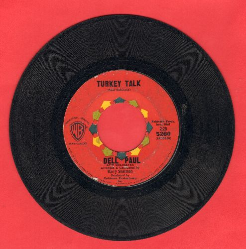 Paul, Dell Orchestra - Turkey Talk/Habana - VG7/ - 45 rpm Records