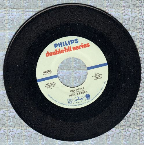 Paul & Paula - Hey Paula/Something Old, Something New (Something Borrowed, Something Blue) (re-issue) - M10/ - 45 rpm Records