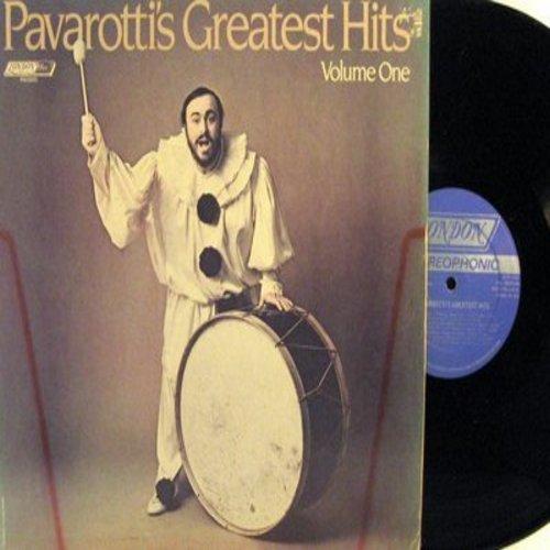 Pavarotti, Luciano - Pavarotti's Greatest Hits Vol. 1: La Donna Mobile, Ave Maria, Vanne O Rosa Fortunata, Funiculi Funicula (Vinyl STEREO LP record) - NM9/NM9 - LP Records