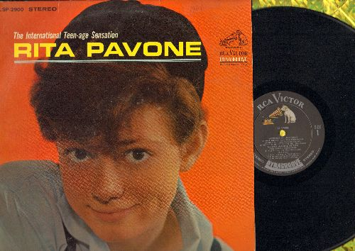 Pavone, Rita - The International Teen-Age Sensation: Remember Me, Wait And See, I Can't Hold Back The Tears, Just Once More, Little By Little, Kissin' Time, Say Goodbye To Bobby (Vinyl STEREO LP record) - NM9/EX8 - LP Records