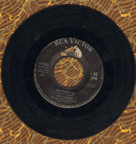 Pavone, Rita - Remember Me/Just Once More - VG7/ - 45 rpm Records