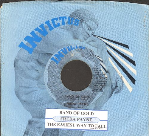 Payne, Freda - Band Of Gold/Easiest Way To Fall (with juke box label and company sleeve) - EX8/ - 45 rpm Records