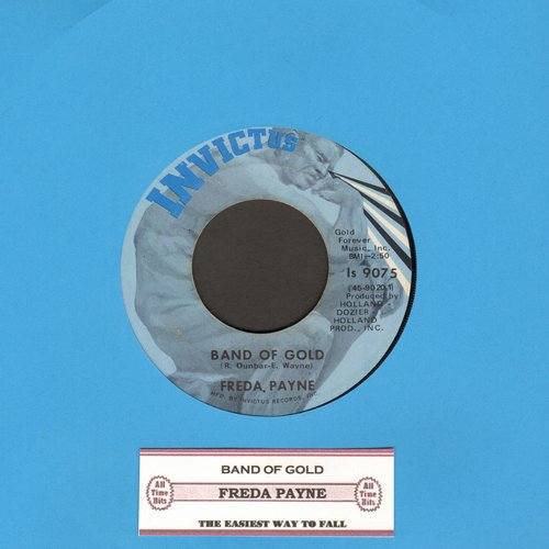 Payne, Freda - Band Of Gold/Easiest Way To Fall (with juke box label) - NM9/ - 45 rpm Records