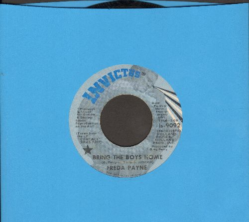 Payne, Freda - Bring The Boys Home/I Shall Not Be Moved - EX8/ - 45 rpm Records