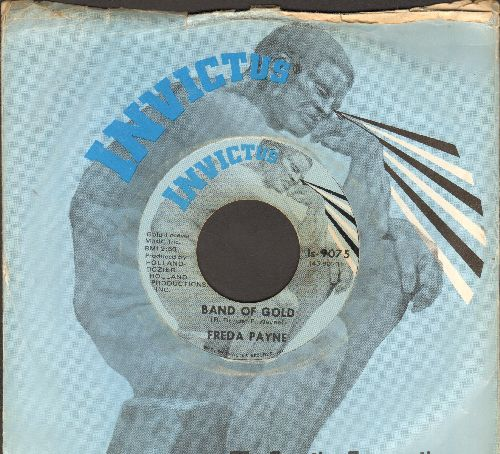 Payne, Freda - Band Of Gold/Easiest Way To Fall (with company sleeve) - EX8/ - 45 rpm Records