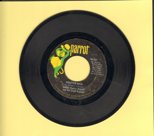 Pickett, Bobby (Boris) & The Crypt Kickers - Monster Mash/Monster Mash Party (Parrot label) - VG6/ - 45 rpm Records