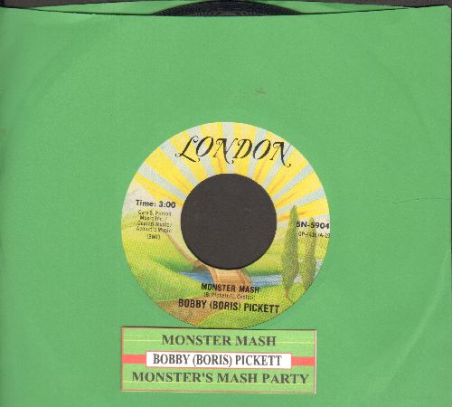 Pickett, Bobby (Boris) & The Crypt Kickers - Monster Mash/Monster Mash Party (Parrot label re-issue with juke box label) - NM9/ - 45 rpm Records