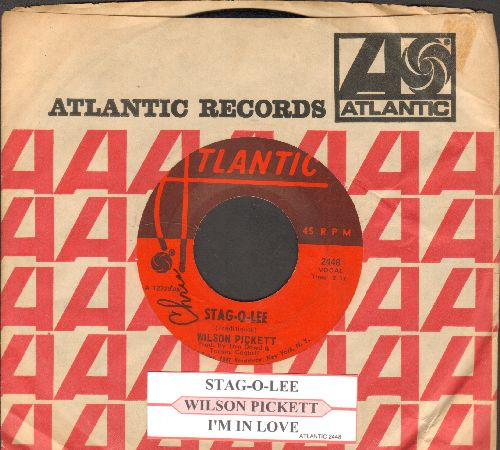 Pickett, Wilson - Stag-O-Lee/I'm In Love (with juke box label and company sleeve) - EX8/ - 45 rpm Records