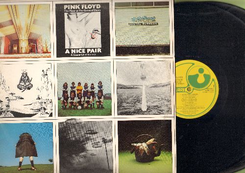 Pink Floyd - A Nice Pair: Astronomy Domine, Lucifer Sam,The Gnome, Scarecrow, A Saucerful Of Secrets (2 vinyl STEREO LP records in gate-fold cover, 1973 first pressing) - NM9/EX8 - LP Records