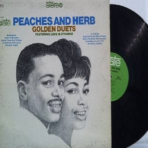 Peaches & Herb - Golden Duets: Somethin' Stupid, Let It Be, We Belong Together, Rockin' Good Way, Love Is Strange (vinyl STEREO LP record) - NM9/EX8 - LP Records