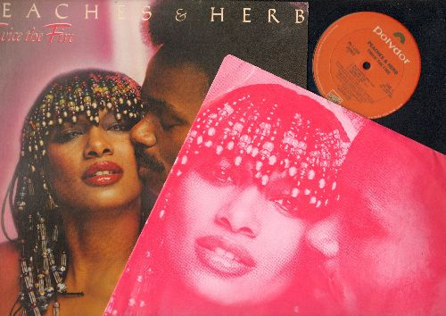 Peaches & Herb - Twice The Fire: Howzabout Some Love, (I Want Us) Back Together, Roller Skatin' Mate, Gypsy Lady (Vinyl STEREO LP record) - EX8/EX8 - LP Records