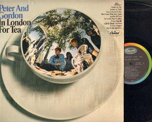 Peter & Gordon - In London For Tea: I'm Your Puppet, You've Got Your Troubles, Sunday For Tea, The Jokers (Vinyl MONO LP record)(bb in upper right cover) - NM9/EX8 - LP Records