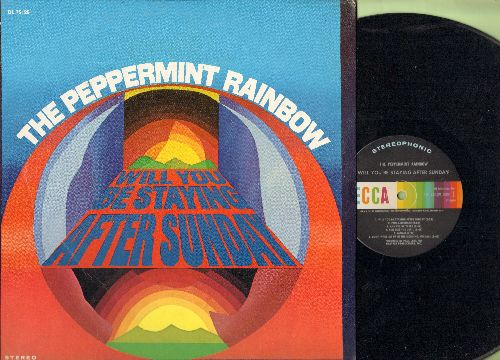 Peppermint Rainbow - Will You Be Staying After Sunday: Don't Wake Me Up In The Morning Michael, Green Tambourine, Rosemary, And I'll Be There (Vinyl STEREO LP record) - NM9/EX8 - LP Records