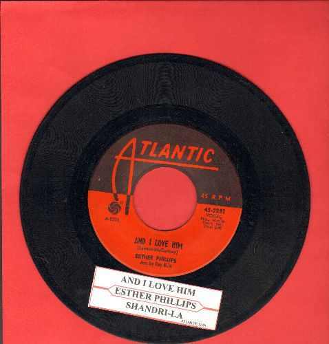 Phillips, Esther - And I Love Him/Shangri-La (with juke box label) - EX8/ - 45 rpm Records