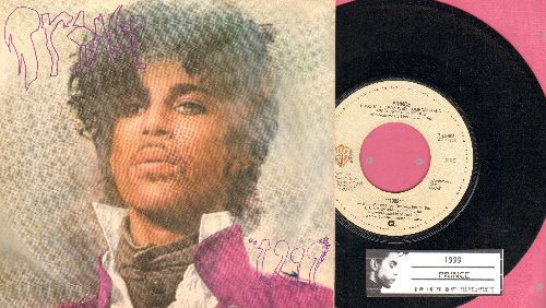 Prince - 1999/How Come You Call Me Anymore (with picture sleeve and juke box label) - EX8/EX8 - 45 rpm Records