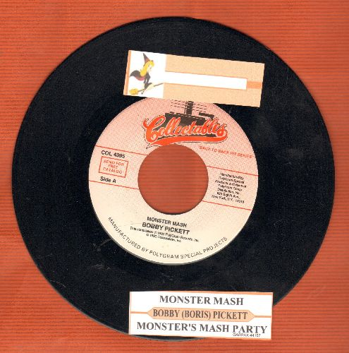 Pickett, Bobby (Boris) - Monster Mash/Monster's Mash Party (re-issue with juke box label) - EX8/ - 45 rpm Records