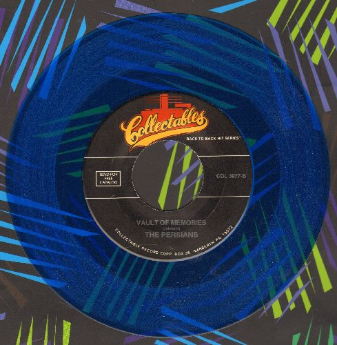 Persians - Vault Of Memories/Cloudburst (by Orlandos on flip-side) (BLUE VINYL re-issue) - NM9/ - 45 rpm Records
