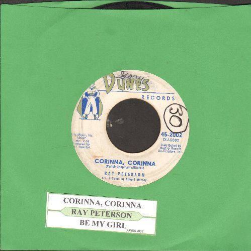 Peterson, Ray - Corinna, Corinna/Be My Girl (with juke box label)(wol) - VG6/ - 45 rpm Records