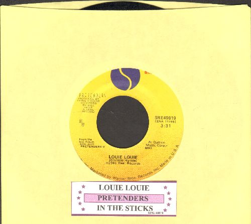 Pretenders - Louie Louie/In The Sticks (with juke box label) - NM9/ - 45 rpm Records