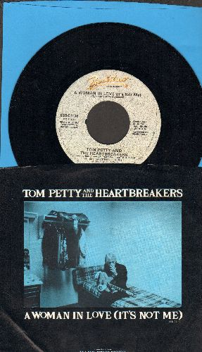 Petty, Tom & The Heartbreakers - A Woman In Love (It's Not Me)/Gatore On The Lawn (with picture sleeve) - NM9/NM9 - 45 rpm Records