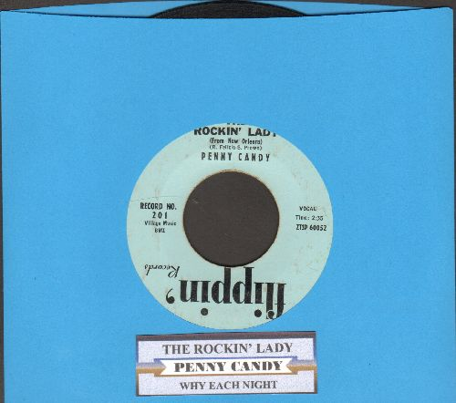 Candy, Penny - The Rockin' Lady/Why Each Night (with juke box label) - VG7/ - 45 rpm Records