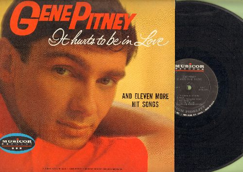 Pitney, Gene - It Hurts To Be In Love: Lips Are Redder On You, I'm Gonna Be Strong, Walk… - EX8/EX8 - LP Records