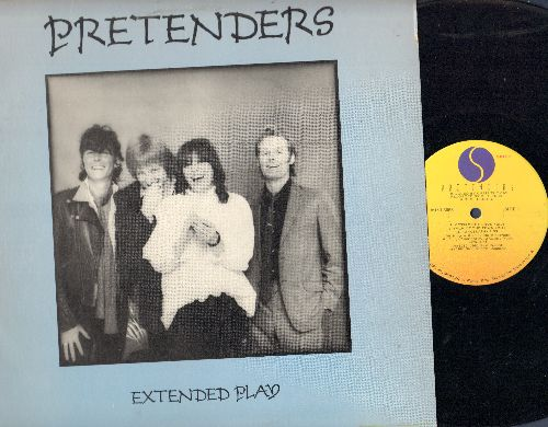 Pretenders - Extended Play: Precious, Message Of Love, Talk Of The Town, Porcelain, Cuban Slide (12 inch vinyl Mini-LP) - EX8/EX8 - LP Records