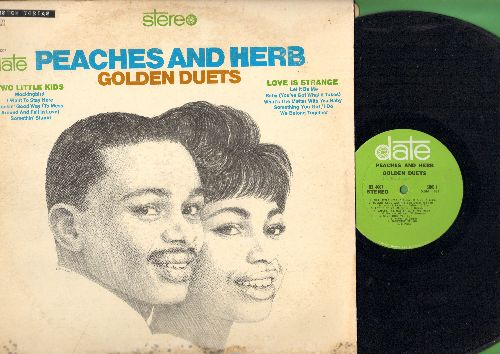 Peaches & Herb - Golden Duets: Somethin' Stupid, Let It Be, We Belong Together, Rockin' Good Way, Love Is Strange (Vinyl STEREO LP record) - EX8/G5 - LP Records