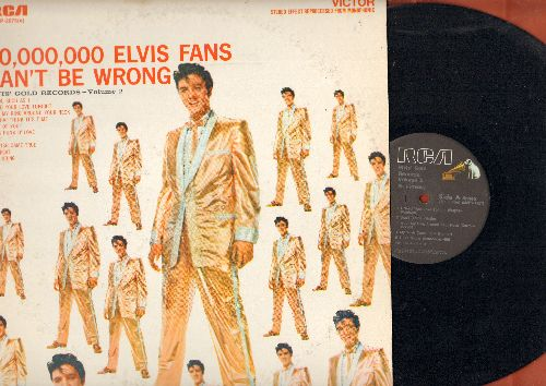 Presley, Elvis - 50,000,000 Fans Can't Be Wrong - Elvis' Gold Records  Vol. 2: A Fool Such As I, One Night, A Big Hunk O' Love, Don't (vinl MONO LP record, 1980s re-issue) - NM9/EX8 - LP Records